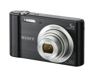 Sony W800/B 20 MP Digital Camera vlog camera