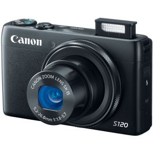 Canon PowerShot S120 intermediate vlogging camera