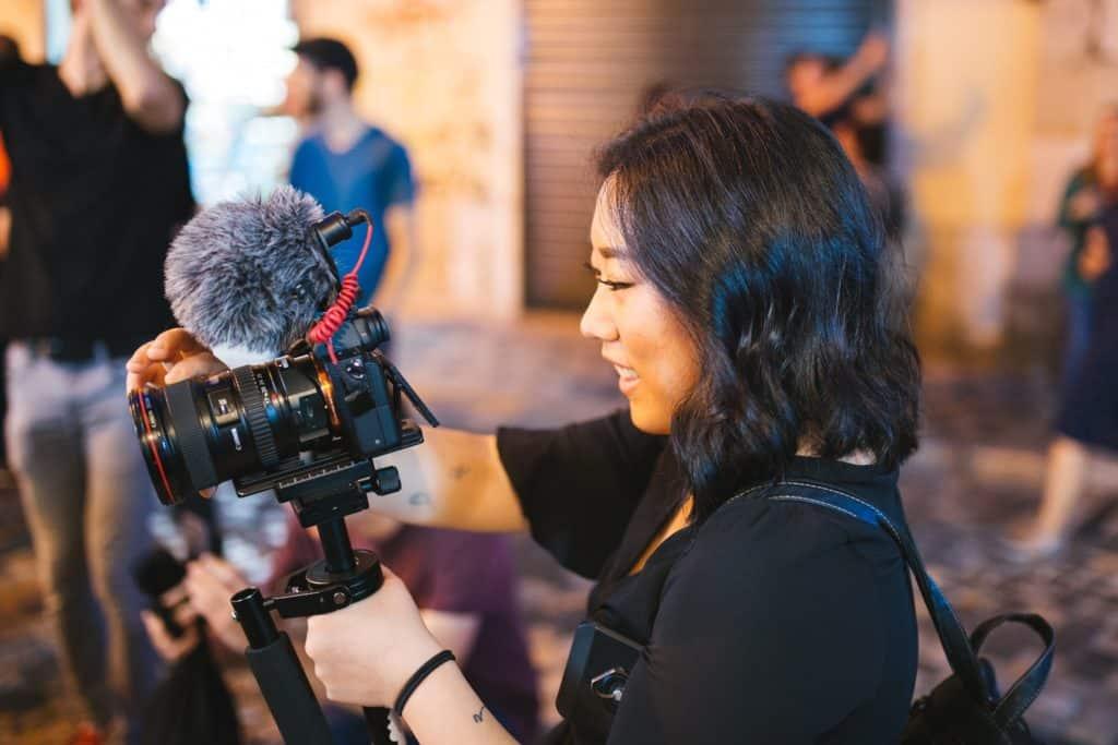 beginning vlogger