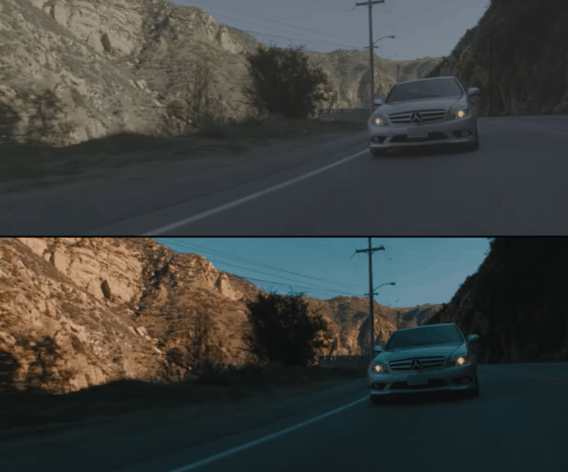 Jon Olsson color grading