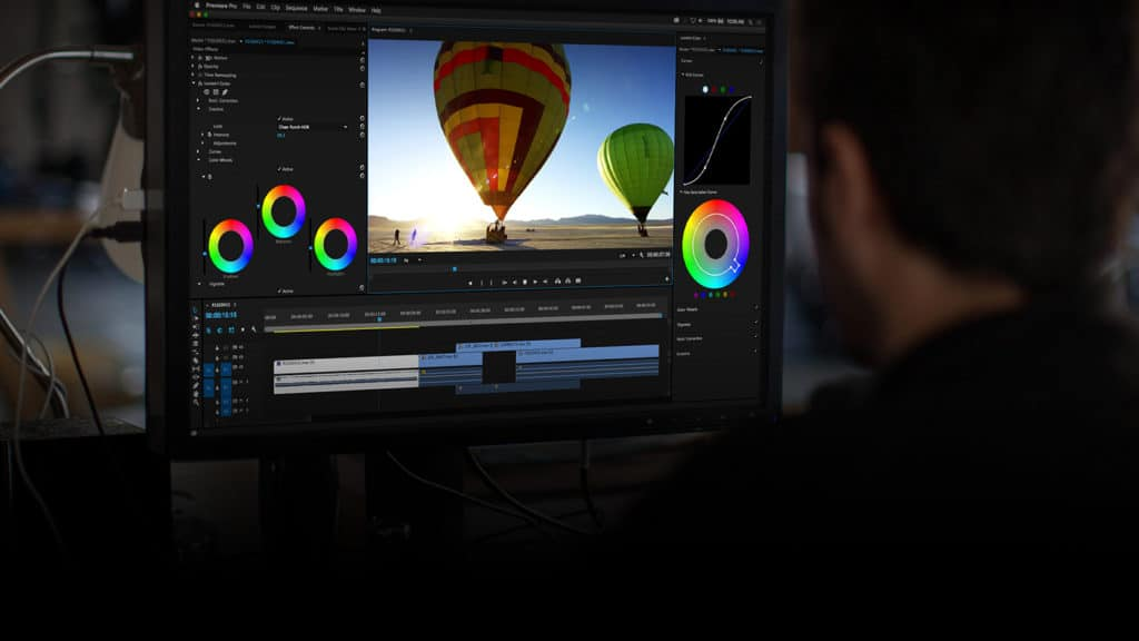 Adobe Premiere Pro interface