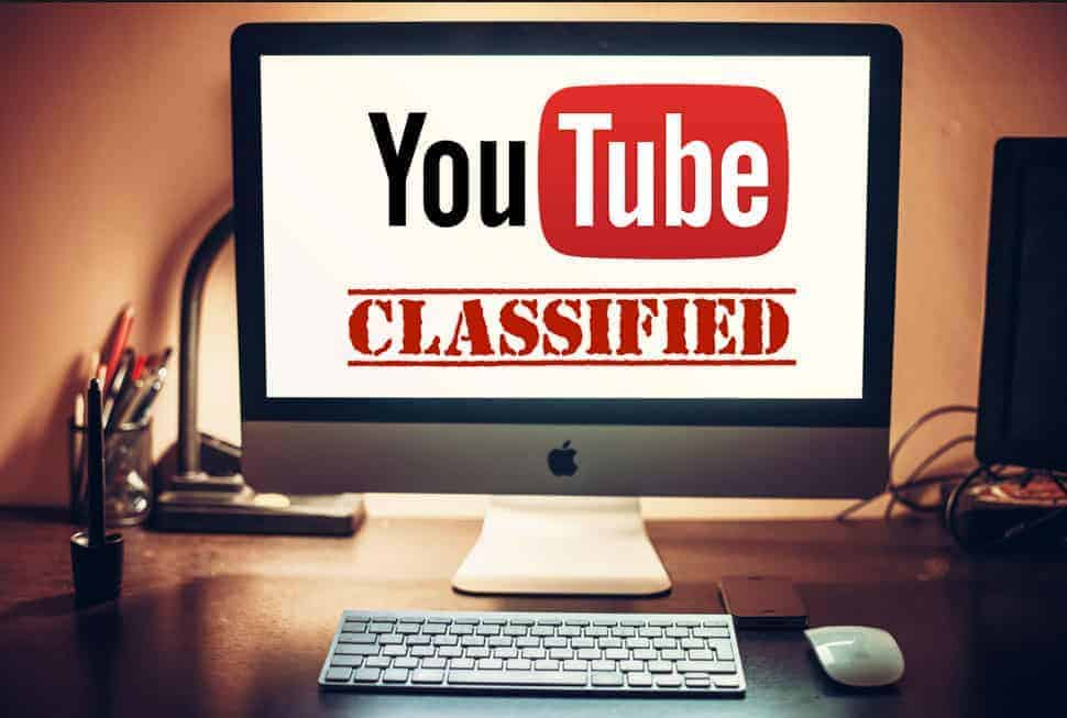 YouTube classified