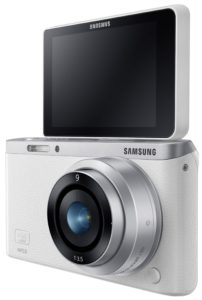 Samsung NX Mini with flip up screen
