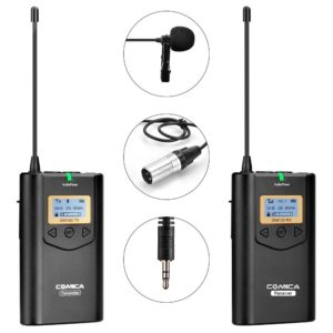 Comica CVM-WM100 Wireless Lavalier Microphone