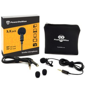 PowerDeWise Lapel Microphone