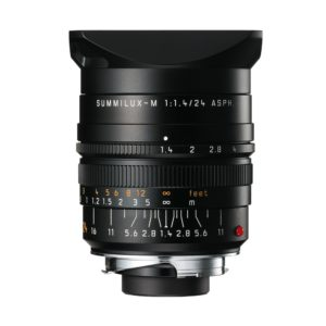 Leica 24mm f/1.4 Summilux-M lens