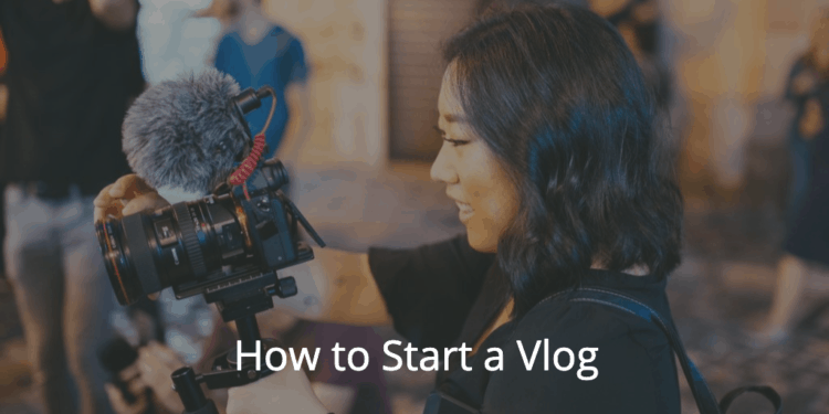 featured image for how to start a vlog guide